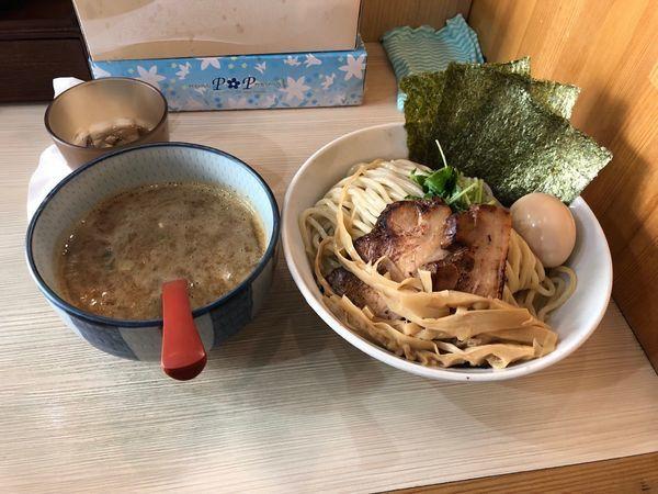 「特製つけ麺特盛 煮干」@麺場 風天の写真