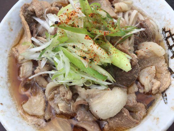 「肉そば」@南天 本店の写真