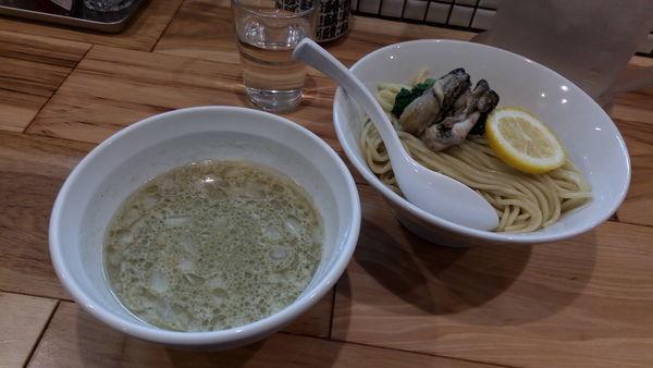 「濃縮牡蠣つけ麺(期間限定)」@らーめん カッパハウスの写真