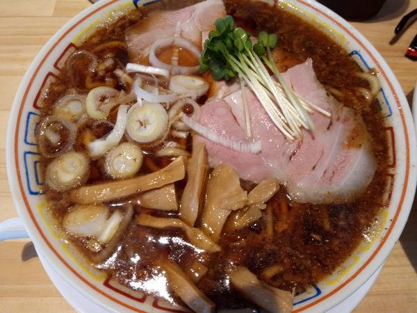 「サバ醤油そば」@サバ6製麺所 福島本店の写真