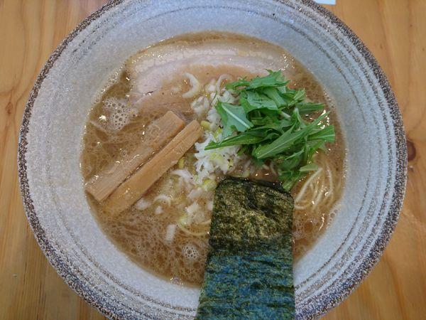 「芳醇らーめん(細麺)」@麺屋くおん 上里店の写真