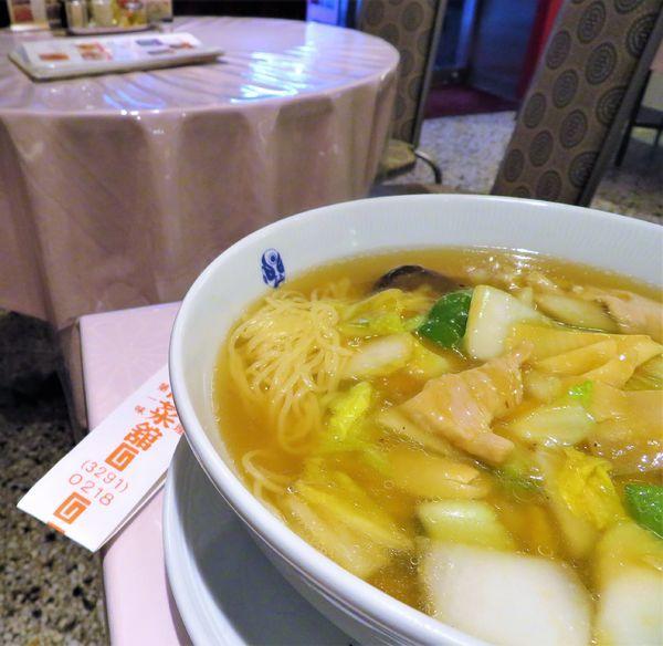 「広東湯麺(1,510円)」@揚子江菜館の写真