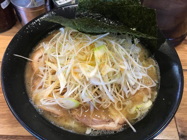 「ネギチャーシュー麺 1070円」@壱八家 つきみ野店の写真