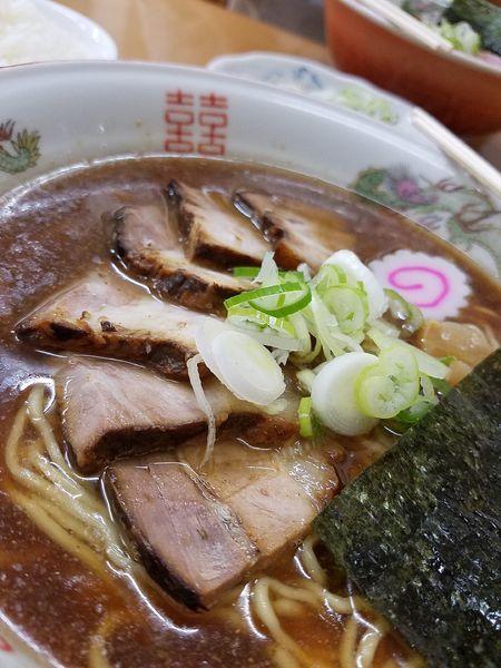 「チャーシュー麺大盛り」@あんどう亭の写真