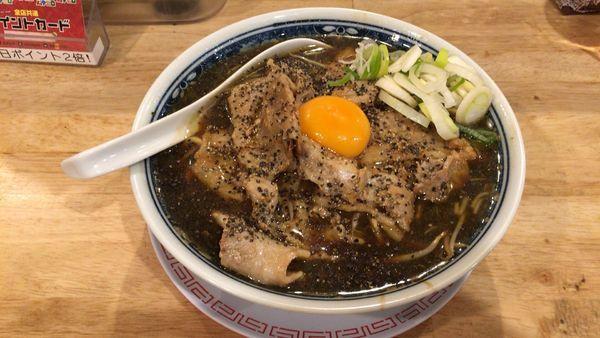 「【12月限定】メチャ肉ブラック」@中華そば ムタヒロの写真