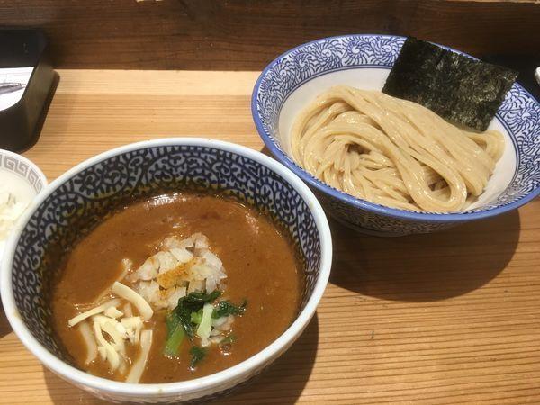 「カレーつけ麺」@豚骨一燈 本郷店の写真