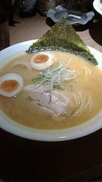 「こってり+味玉」@大澤麺工房 一葵の写真