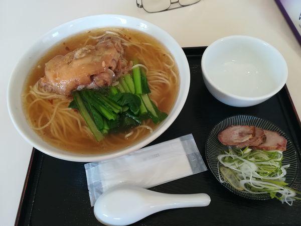 「12/23豚足麺大盛り1020円 ラーメンウォーカークーポンで1」@亜舵夢巣の写真