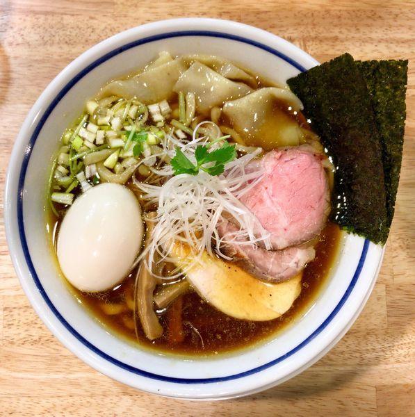 「特製中華そば 醤油」@手打式 超多加水麺 ののくらの写真
