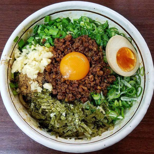 「台湾まぜそば」@濃厚担々麺はなび 小牧店の写真