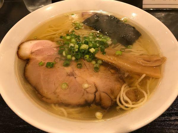 「特製塩らぁ麺  680円」@ラーメン角屋の写真