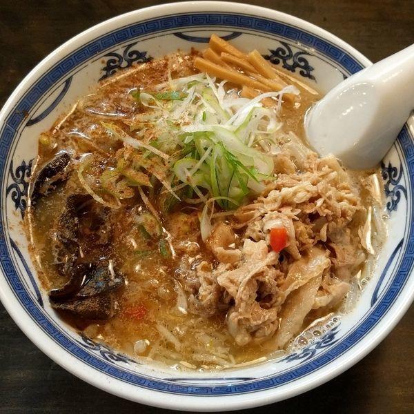 「薬膳味噌」@ラーメン・餃子 ハナウタの写真