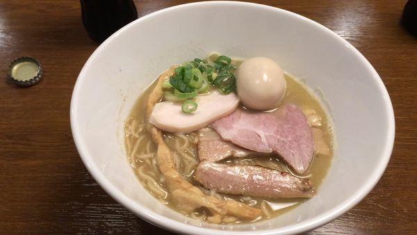 「煮干の誘惑」@らあめん こそっとの写真