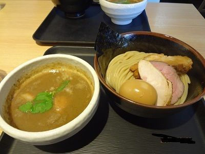 「特製濃厚煮干しつけ麺」@煮干し中華そば 一燈の写真