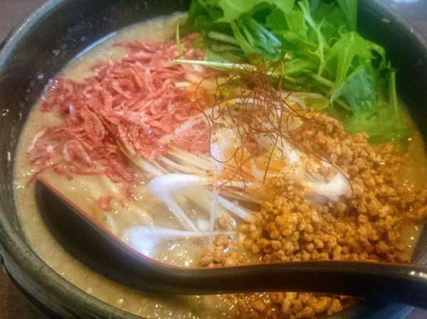 「ゴマみそ坦坦麺」@らーめんダイニング ど・みそ 八丁堀店の写真