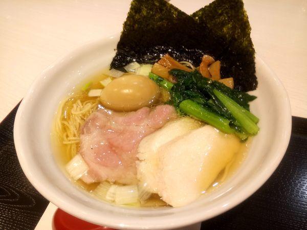 「特製鶏だし塩RAMEN1048円」@RAMEN 火影 ラゾーナ川崎店の写真