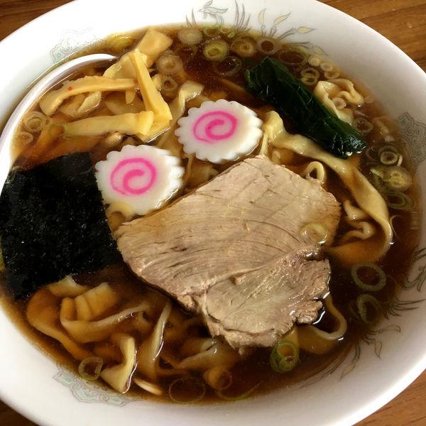 「太麺中華そば(大盛りのみ) 800円」@みやご食堂の写真