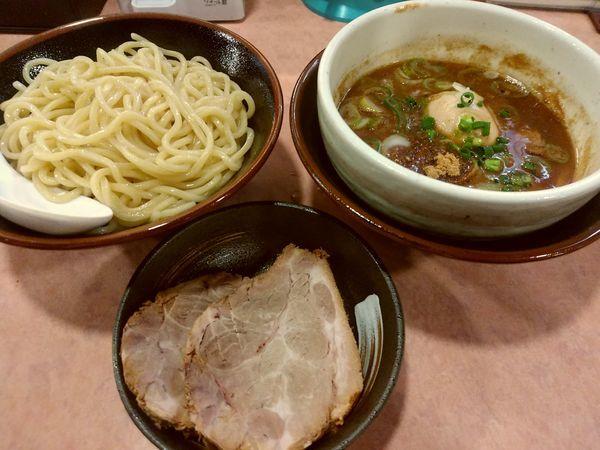 「特製つけ麺(中盛・250g)1,030円」@特級豚骨 中華そば湊生の写真