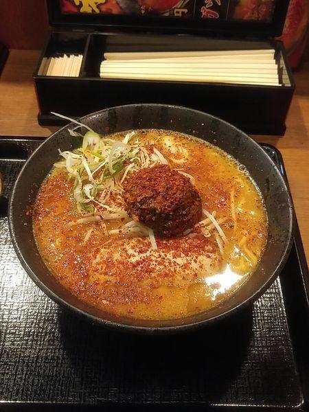 「季節限定 ドラコン味噌ラーメン 830円」@伝丸 17号渋川伊香保IC店の写真