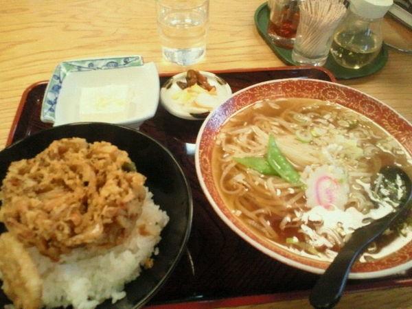 「ラーメン定食 650円」@マルイチ 神田軒の写真