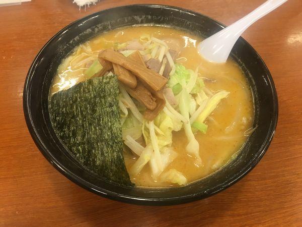 「辛っ風おやじ麺」@ラーメンおやじ 本店の写真
