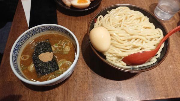 「味玉つけ麺 大 あつもり」@つけ麺専門店 三田製麺所 ヨドバシAkiba店の写真