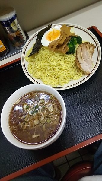 「つけ麵(大盛)550円」@中華料理 ひろしの写真