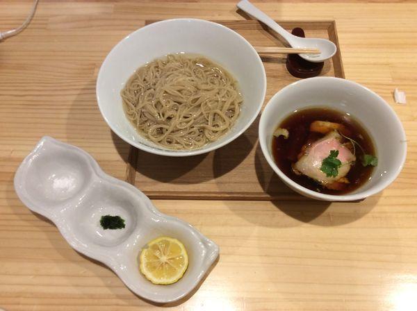 「つけ麺¥1000」@らぁ麺 飯田商店の写真