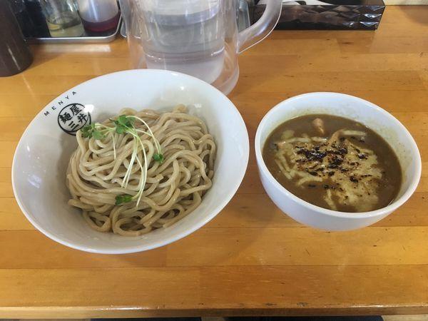 「カレーつけ麺」@麺屋三井の写真