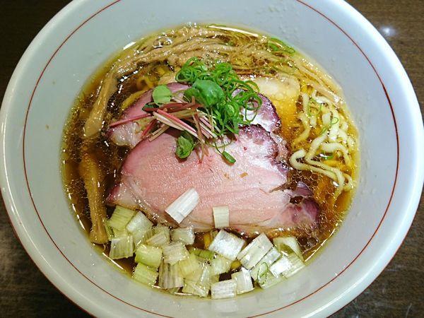 「虎徹そば(醤油、手もみ麺)」@麺や 虎徹の写真