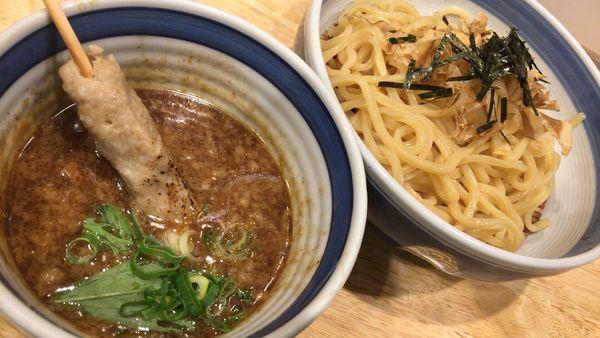 「超濃厚鶏鰹つけ麺」@鶏そば どりどりの写真