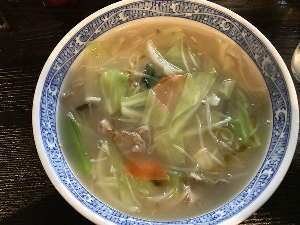 「ちゃんぽん麺」@天真爛漫の写真