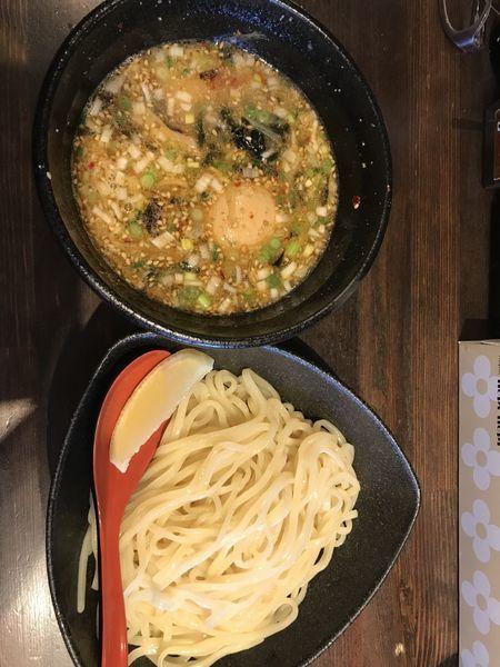 「味玉塩つけ麺」@中華蕎麦 奨 津田店の写真