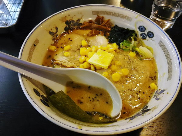 「サソリ固めこってり味噌(870円)」@チャーシュー力 V3 三芳店の写真