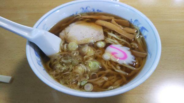 「醤油ラーメン」@まるいち食堂の写真