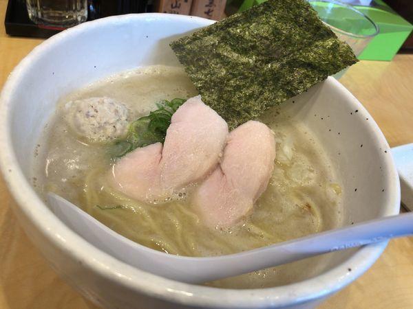 「濃厚鶏白湯(塩)」@らーめん 銀杏 松戸店の写真