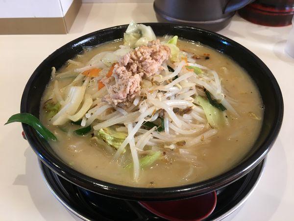 「鶏白湯タンメン (クーポン0円)」@湘南タンメンの写真