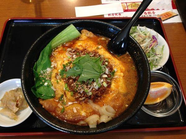 「玉子刀削麺」@中華料理 千香餃子の写真