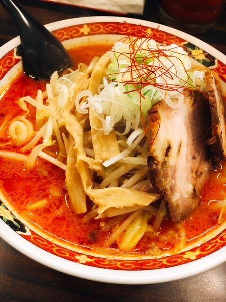 「オロチョンらーめん 4辛」@札幌 味噌や 元住吉店の写真