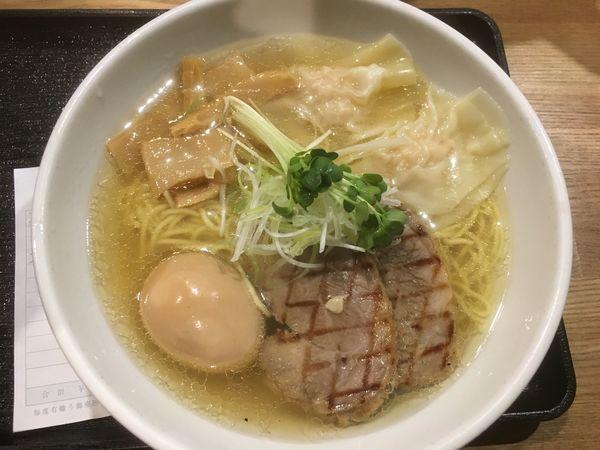 「芳醇鶏そば全部のせ1000円」@麺屋 ふぅふぅ亭の写真
