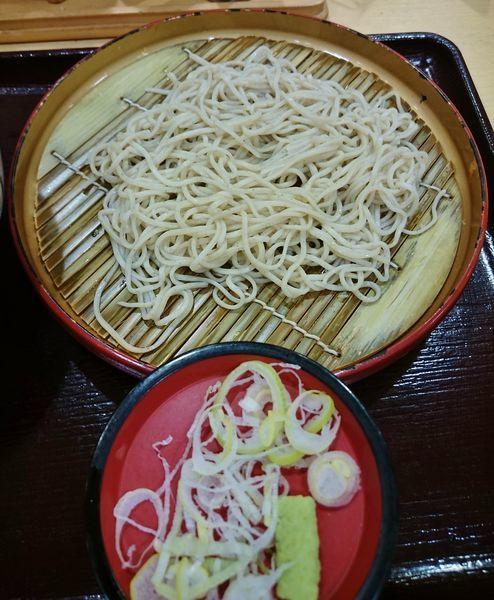 「小そばセット(+250円)」@天丼 てんや 浅草店の写真