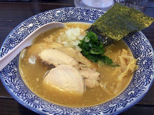 「トリプルラーメン(830円)」@濃厚鶏白湯ラーメン 一彩の写真