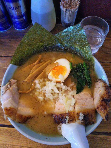 「豚バラチャーシュー麺 1000円」@地どりラーメンの写真