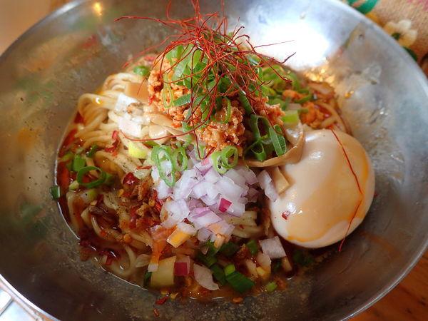 「【曜日限定】汁なし担々麺」@中華そば de 小松の写真