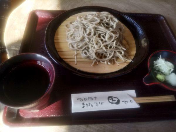 「せいろ850円大盛200円」@いなかそば 田の写真