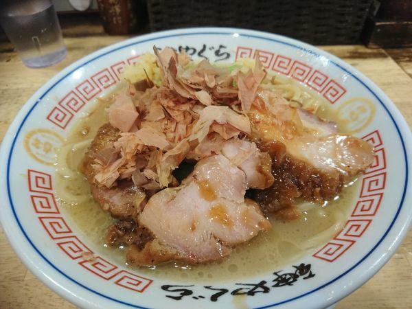 「【冬期限定】特濃鶏白湯850円(ニンニク)」@麺屋 神やぐらの写真