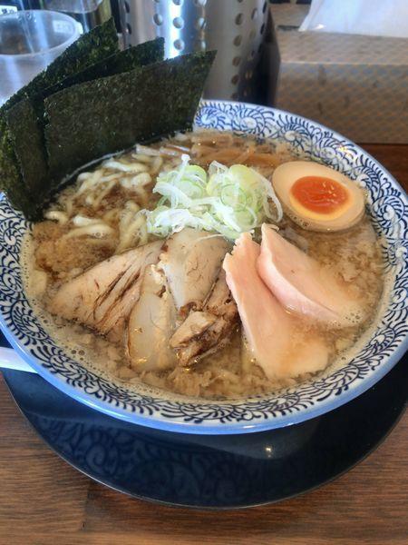 「89背脂のこく煮干しらぁめん」@千葉房総 麺のマルタイの写真