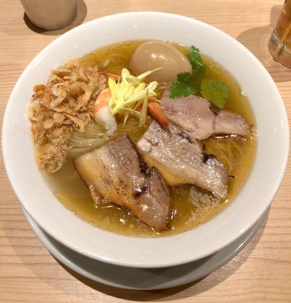 「[正月限定麺] OMAR SALT ¥1000」@京紫灯花繚乱の写真