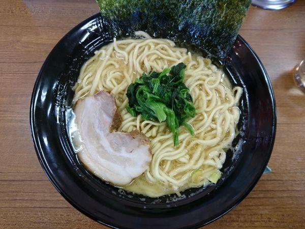 「醤油らーめん(硬め、薄め、多め)+麺大盛」@ライスとらーめん立川家 いせさき店の写真