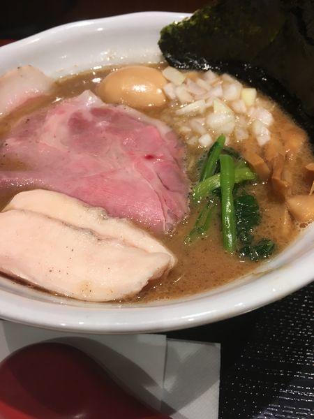 「特製濃厚豚骨魚介RAMEN 1,069円」@RAMEN 火影 ラゾーナ川崎店の写真